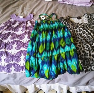 Girls 6-7 Dresses and Top